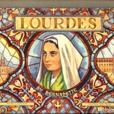 Libros de segunda mano: LOURDES POP UP CON 8 DIORAMAS DE GILDAS (1958). Lote 210719849
