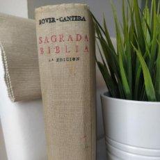 Libros de segunda mano: SAGRADA BIBLIA. CRÍTICA SOBRE TEXTOS HEBREO Y GRIEGO - BOVER-CANTERA - BAC - CUARTA EDICIÓN 1957. Lote 211696599