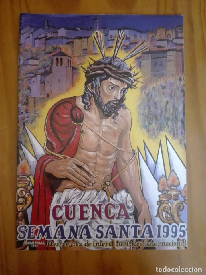 PROGRAMA OFICIAL SEMANA SANTA CUENCA. 1995 (Libros de Segunda Mano - Religión)