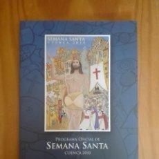 Libros de segunda mano: PROGRAMA OFICIAL SEMANA SANTA DE CUENCA. 2010. Lote 211827141