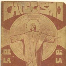 Libros de segunda mano: LOTE DE TRES CATECISMOS, UNO DE ELLOS EL CATECISMO DE ASTETE. Lote 211909687