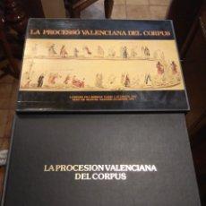 Libros de segunda mano: LIBROS DE LA PROCESIÓN - PROCESSÓ VALENCIANA DEL CORPUS - 2 VOLÚMENES -. Lote 212007003