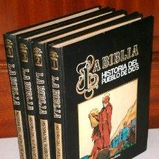 Libros de segunda mano: LA BIBLIA: HISTORIA DEL PUEBLO DE DIOS / COMIC 4T DE EDEBÉ / VERBO DIVINO EN MADRID 1985. Lote 212550976