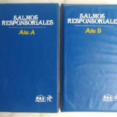 Libri di seconda mano: SALMOS RESPONSORIALES. 6 CINTAS CASSETTE.. Lote 212620223