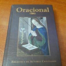 Libri di seconda mano: LIBRO ORACIONAL (NUEVO DEVOCIONARIO DEL CRISTIANO). Lote 213365811
