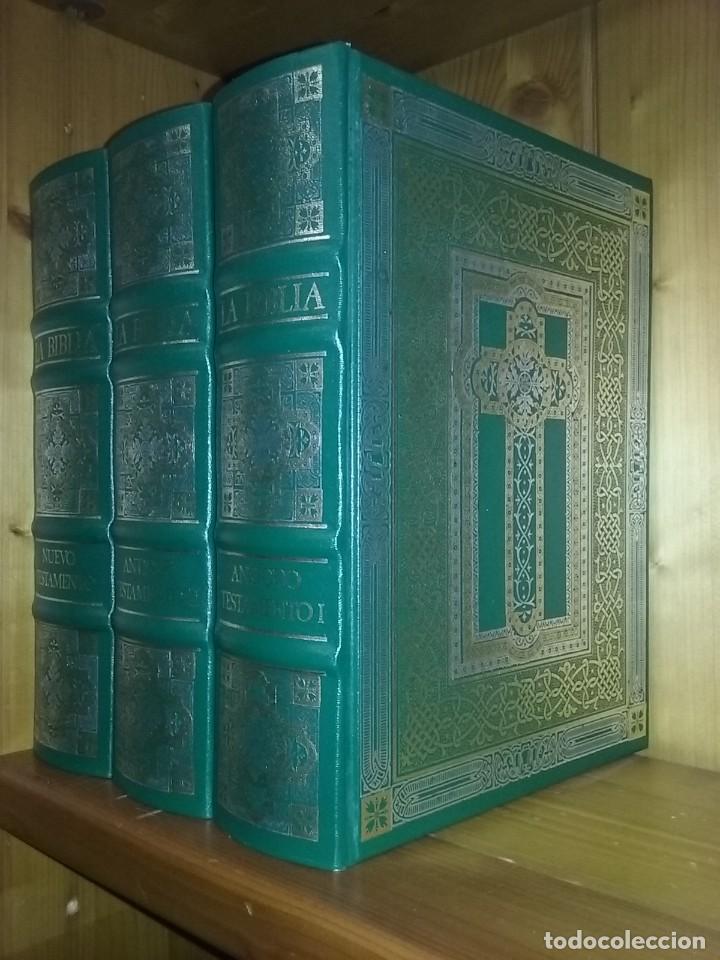 LA BIBLIA DE JERUSALEN, EL ANTIGUO Y EL NUEVO TESTAMENTO, GUSTAVO DORE, CLUB INTERNACIONAL DEL LIBRO (Libros de Segunda Mano - Religión)