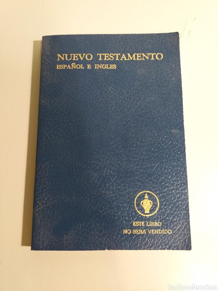 Libros de segunda mano: Lote de biblias. biblia. holy bible. new testament. la santa biblia. nuevo testamento español e ingl - Foto 4 - 213819571