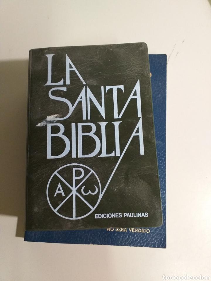 Libros de segunda mano: Lote de biblias. biblia. holy bible. new testament. la santa biblia. nuevo testamento español e ingl - Foto 5 - 213819571