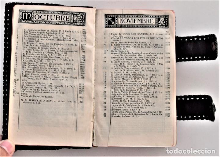 Libros de segunda mano: MISAL DIARIO Y VESPERAL - GASPAR LEFEBVRE - EDITADO EN MADRID AÑO 1951 - FUNDA REPUJADA PRECIOSA - Foto 4 - 213878438