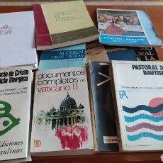 Libros de segunda mano: LOTE DE 11 LIBROS TEMÁTICA RELIGIOSA, ÚNICO, VER, EN PERFECTO ESTADO , VER, LOTE VALIOSO. Lote 214028773