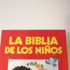 Libros de segunda mano: G-28 LIBRO LA BIBLIA DE LOS NIÑOS OCEANO 3 TOMOS CON ESTUCHE. Lote 235543955