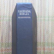 Libros de segunda mano: SAGRADA BIBLIA - NACAR-COLUNGA - B.A.C.. Lote 216428425
