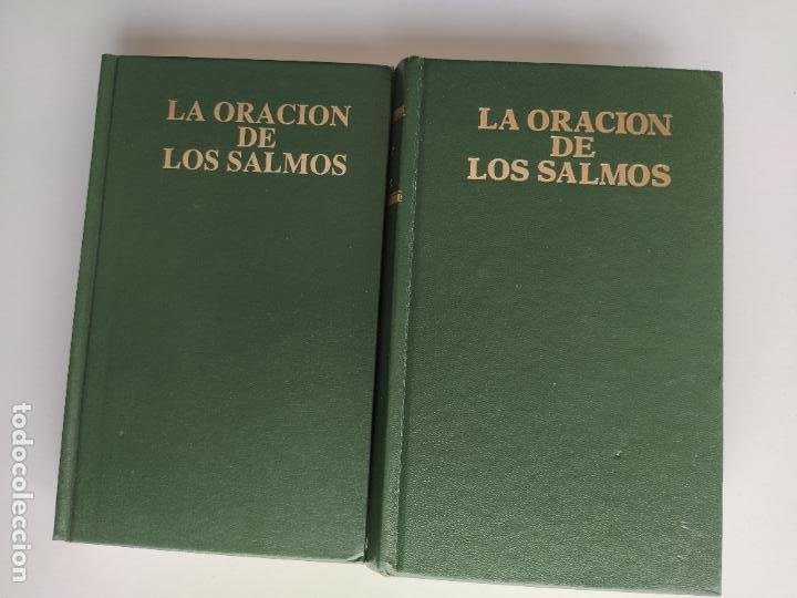 Libros de segunda mano: LA ORACION DE LOS SALMOS I Y II COMPLETA - JUSTO COLLANTES - DICIONES EDAPOR - DEDICADA POR EL AUTOR - Foto 4 - 216550068