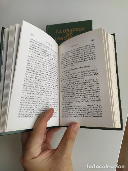 Libros de segunda mano: LA ORACION DE LOS SALMOS I Y II COMPLETA - JUSTO COLLANTES - DICIONES EDAPOR - DEDICADA POR EL AUTOR - Foto 6 - 216550068