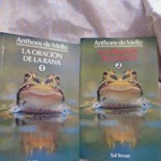 Libros de segunda mano: LA ORACIÓN DE LA RANA. ANTHONY DE MELLO. SAL TERRAE, 1993.. Lote 216597743