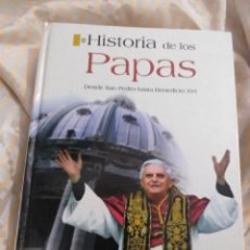Libros de segunda mano: HISTORIA DE LOS PAPAS. L. T. MELGAR. LIBSA, 2005.. Lote 216600841