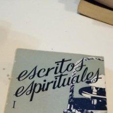 Livros em segunda mão: G-38 LIBRO ESCRITOS ESPIRITUALES CHARLES DE FOUCAULD. Lote 217573418