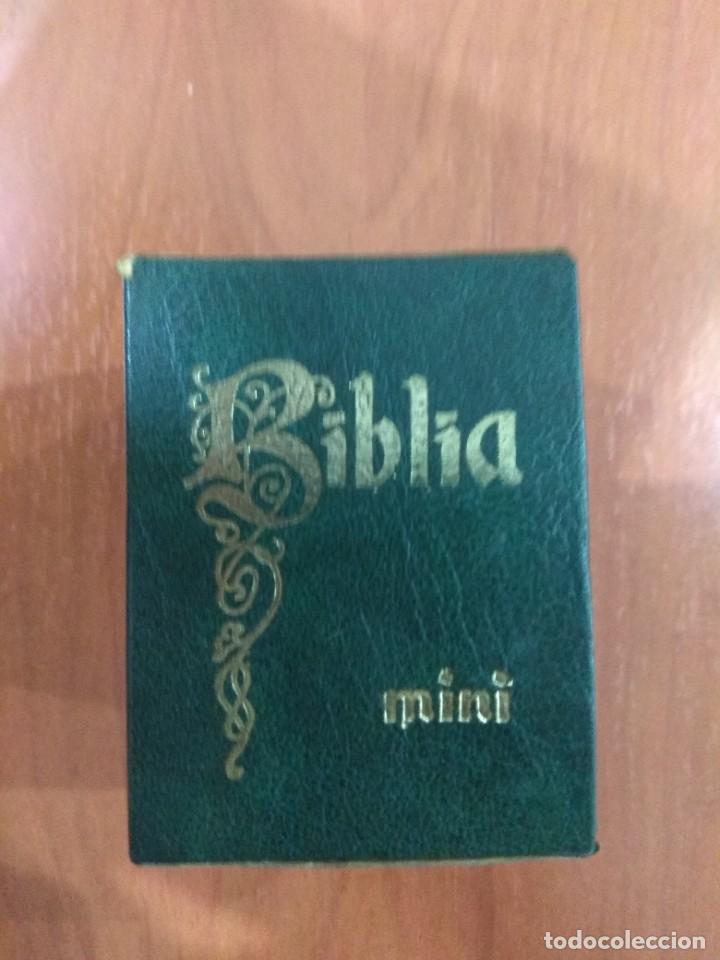 Libros de segunda mano: Mini Biblia. - Foto 3 - 217584900