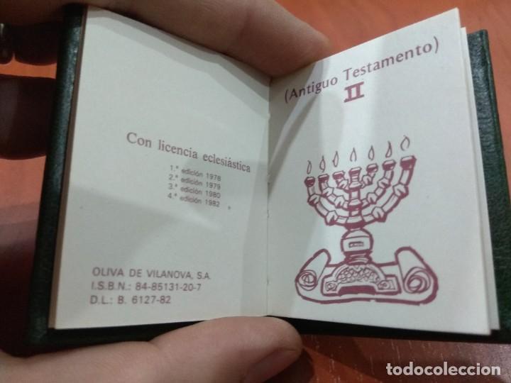 Libros de segunda mano: Mini Biblia. - Foto 11 - 217584900