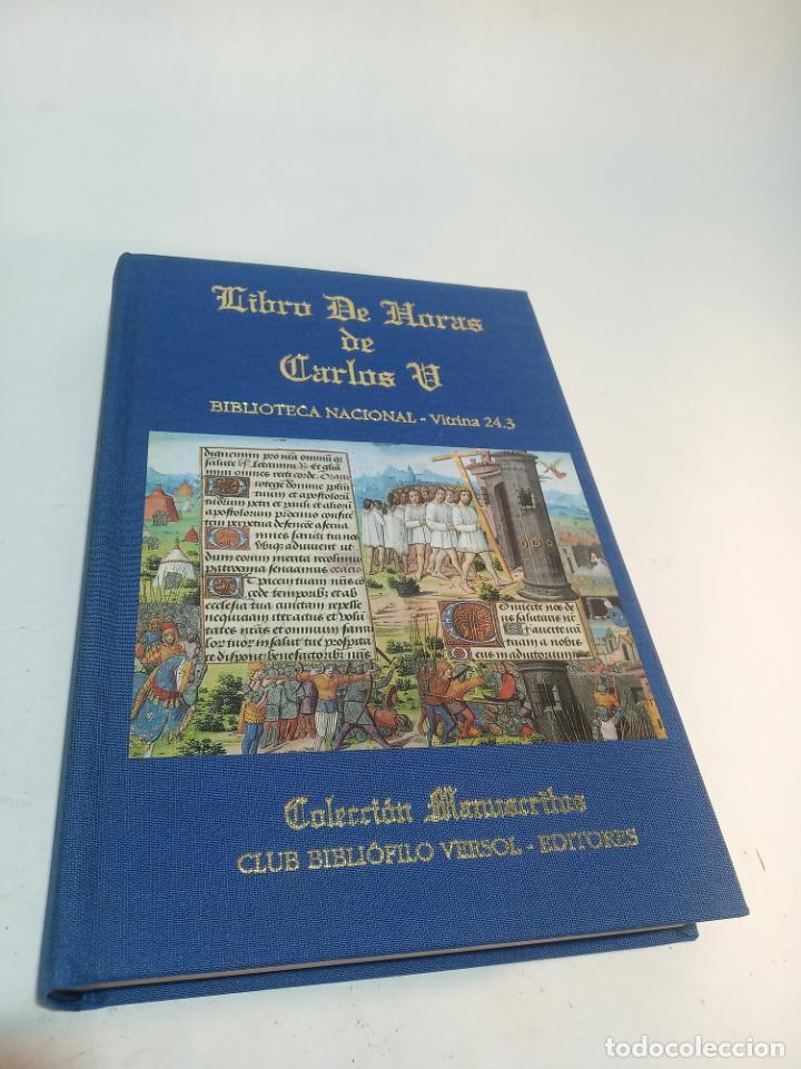 LIBRO DE HORAS DE CARLOS V. BIBLIOTECA NACIONAL. VITRINA 24.3. COLEC. MANUSCRITOS. 2002. FACSÍMIL. (Libros de Segunda Mano - Religión)