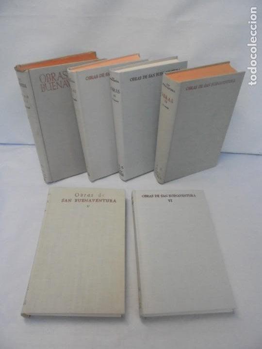 OBRAS DE SAN BENAVENTE. 6 TOMOS. BIBLIOTECA DE AUTORES CRISTIANOS. 2º Y 3ª EDICION (Libros de Segunda Mano - Religión)