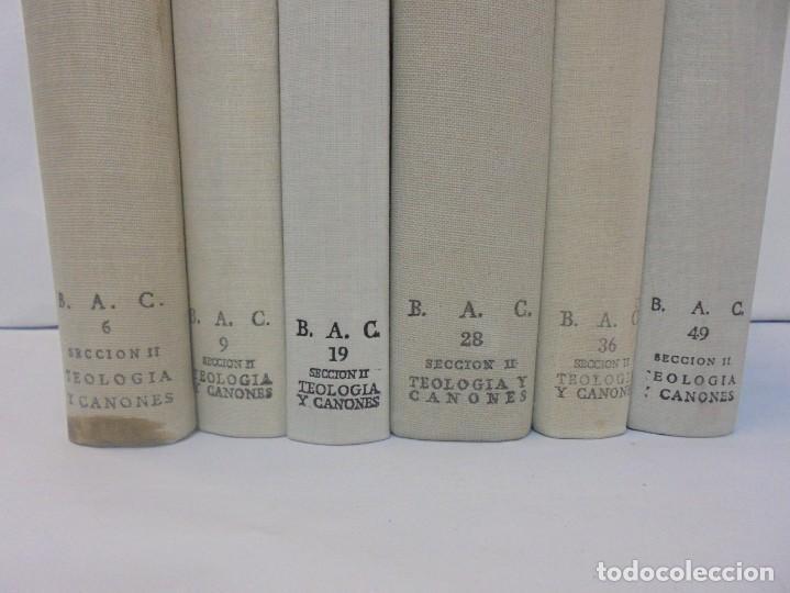 Libros de segunda mano: OBRAS DE SAN BENAVENTE. 6 TOMOS. BIBLIOTECA DE AUTORES CRISTIANOS. 2º Y 3ª EDICION - Foto 5 - 218007376