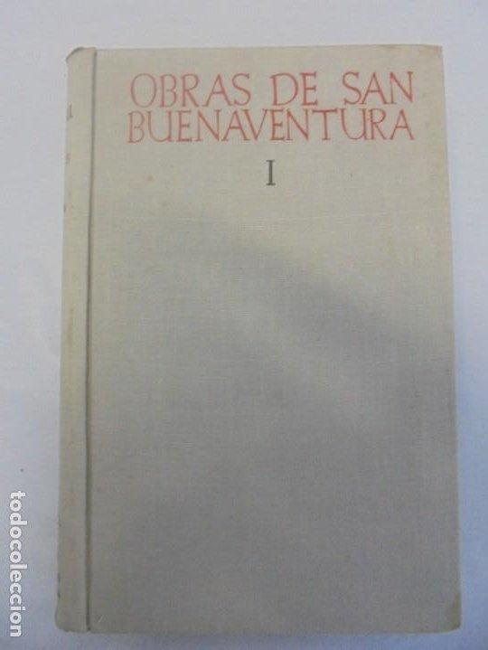 Libros de segunda mano: OBRAS DE SAN BENAVENTE. 6 TOMOS. BIBLIOTECA DE AUTORES CRISTIANOS. 2º Y 3ª EDICION - Foto 7 - 218007376