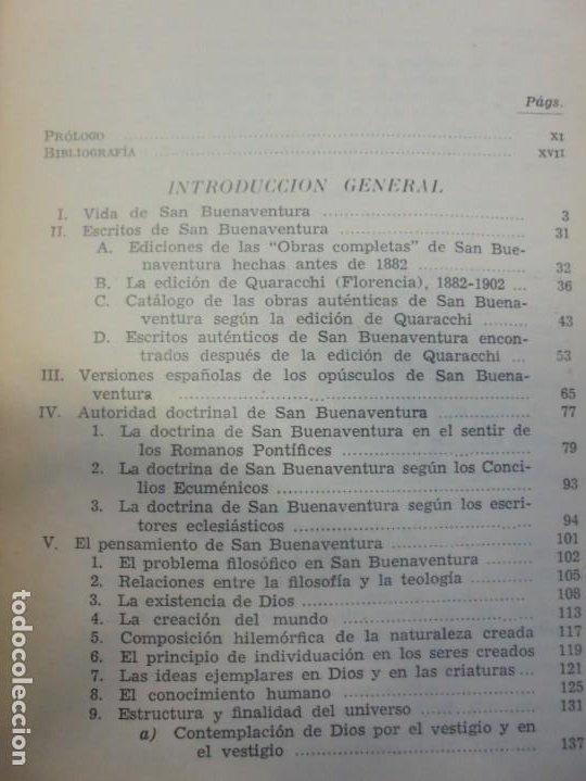 Libros de segunda mano: OBRAS DE SAN BENAVENTE. 6 TOMOS. BIBLIOTECA DE AUTORES CRISTIANOS. 2º Y 3ª EDICION - Foto 10 - 218007376