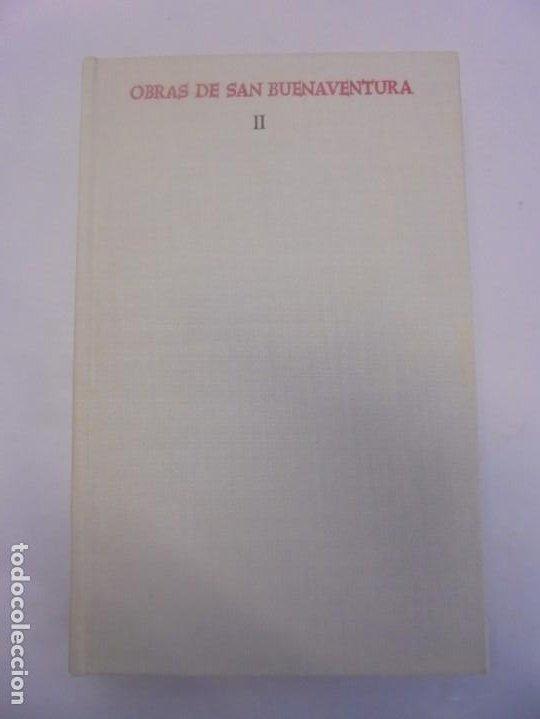 Libros de segunda mano: OBRAS DE SAN BENAVENTE. 6 TOMOS. BIBLIOTECA DE AUTORES CRISTIANOS. 2º Y 3ª EDICION - Foto 21 - 218007376