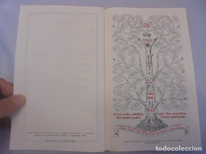 Libros de segunda mano: OBRAS DE SAN BENAVENTE. 6 TOMOS. BIBLIOTECA DE AUTORES CRISTIANOS. 2º Y 3ª EDICION - Foto 23 - 218007376
