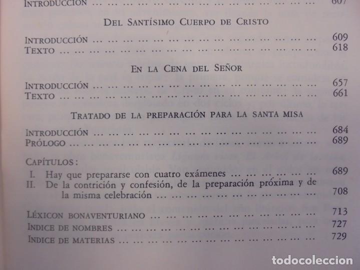 Libros de segunda mano: OBRAS DE SAN BENAVENTE. 6 TOMOS. BIBLIOTECA DE AUTORES CRISTIANOS. 2º Y 3ª EDICION - Foto 30 - 218007376