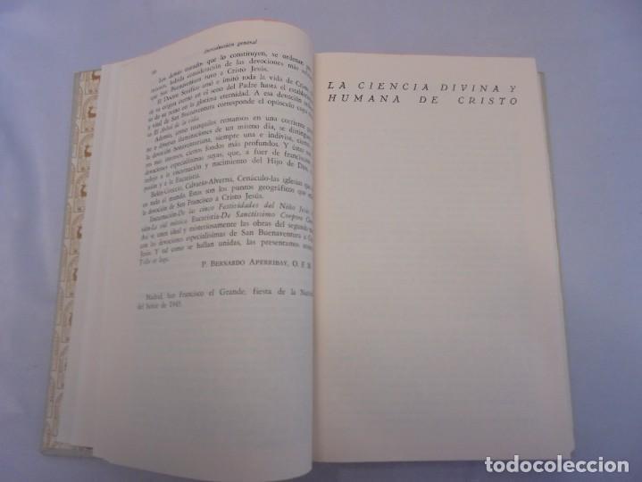 Libros de segunda mano: OBRAS DE SAN BENAVENTE. 6 TOMOS. BIBLIOTECA DE AUTORES CRISTIANOS. 2º Y 3ª EDICION - Foto 31 - 218007376
