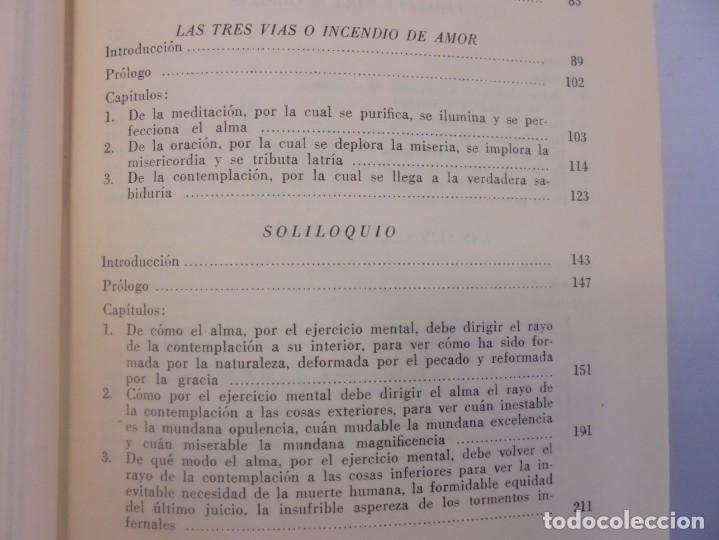Libros de segunda mano: OBRAS DE SAN BENAVENTE. 6 TOMOS. BIBLIOTECA DE AUTORES CRISTIANOS. 2º Y 3ª EDICION - Foto 49 - 218007376