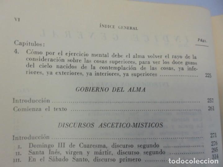 Libros de segunda mano: OBRAS DE SAN BENAVENTE. 6 TOMOS. BIBLIOTECA DE AUTORES CRISTIANOS. 2º Y 3ª EDICION - Foto 50 - 218007376