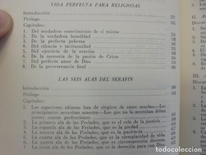 Libros de segunda mano: OBRAS DE SAN BENAVENTE. 6 TOMOS. BIBLIOTECA DE AUTORES CRISTIANOS. 2º Y 3ª EDICION - Foto 51 - 218007376