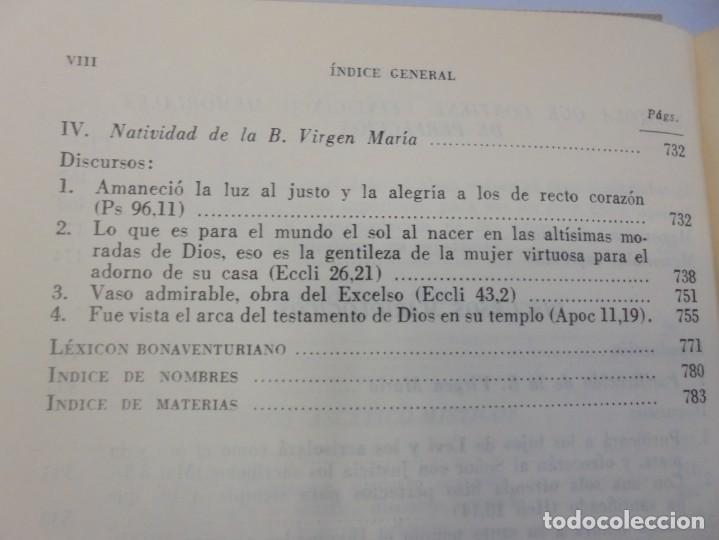 Libros de segunda mano: OBRAS DE SAN BENAVENTE. 6 TOMOS. BIBLIOTECA DE AUTORES CRISTIANOS. 2º Y 3ª EDICION - Foto 54 - 218007376