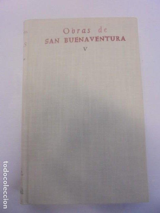 Libros de segunda mano: OBRAS DE SAN BENAVENTE. 6 TOMOS. BIBLIOTECA DE AUTORES CRISTIANOS. 2º Y 3ª EDICION - Foto 59 - 218007376
