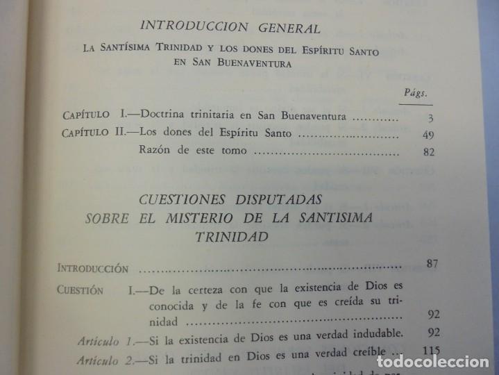 Libros de segunda mano: OBRAS DE SAN BENAVENTE. 6 TOMOS. BIBLIOTECA DE AUTORES CRISTIANOS. 2º Y 3ª EDICION - Foto 61 - 218007376