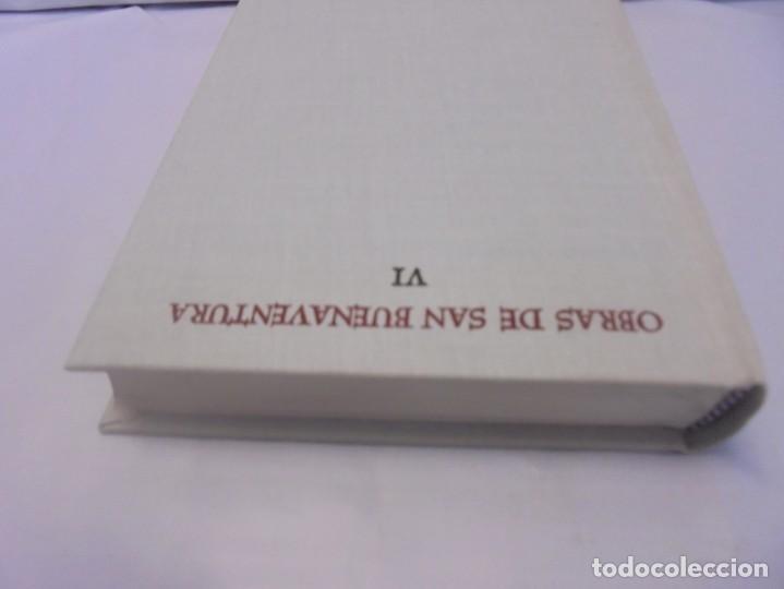 Libros de segunda mano: OBRAS DE SAN BENAVENTE. 6 TOMOS. BIBLIOTECA DE AUTORES CRISTIANOS. 2º Y 3ª EDICION - Foto 76 - 218007376
