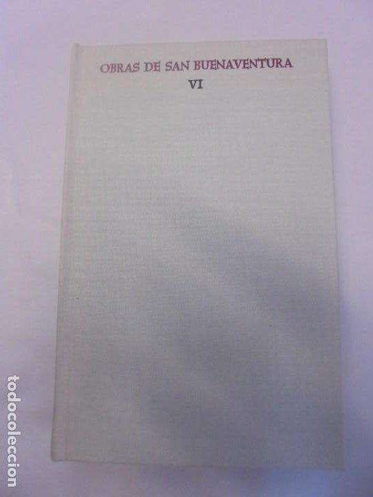 Libros de segunda mano: OBRAS DE SAN BENAVENTE. 6 TOMOS. BIBLIOTECA DE AUTORES CRISTIANOS. 2º Y 3ª EDICION - Foto 77 - 218007376
