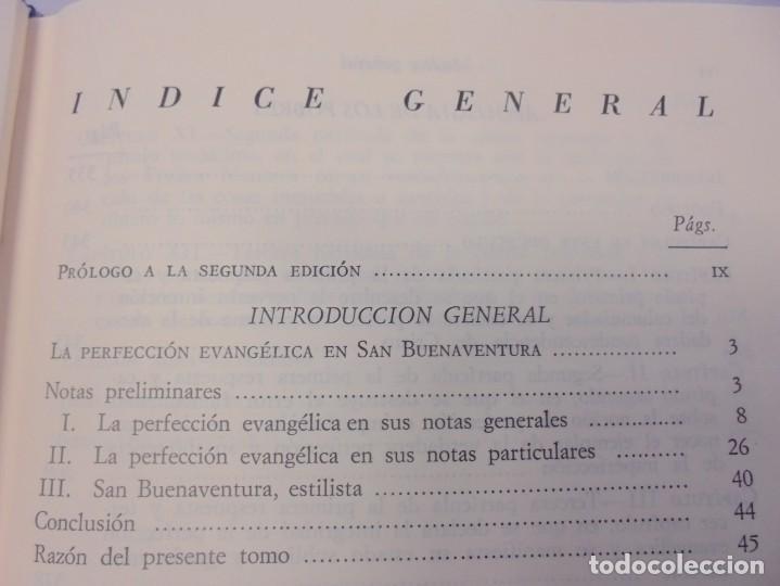 Libros de segunda mano: OBRAS DE SAN BENAVENTE. 6 TOMOS. BIBLIOTECA DE AUTORES CRISTIANOS. 2º Y 3ª EDICION - Foto 80 - 218007376