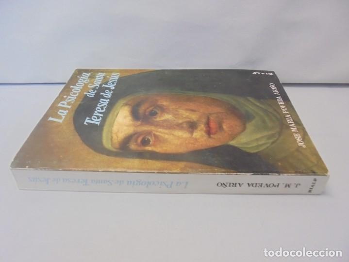 Libros de segunda mano: LA PSICOLOGIA DE SANTA TERESA DE JESUS. JOSE MARIA POVEDA ARIÑO. DEDICADO POR AUTOR. RIALP 1984 - Foto 2 - 218007770