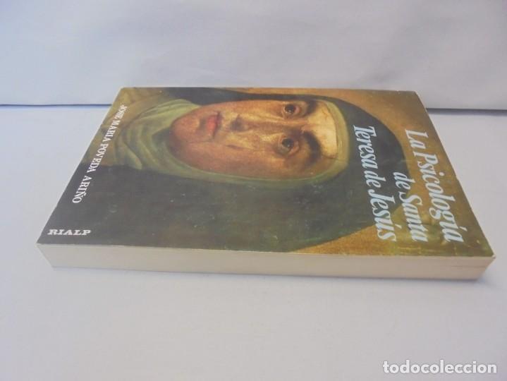 Libros de segunda mano: LA PSICOLOGIA DE SANTA TERESA DE JESUS. JOSE MARIA POVEDA ARIÑO. DEDICADO POR AUTOR. RIALP 1984 - Foto 4 - 218007770