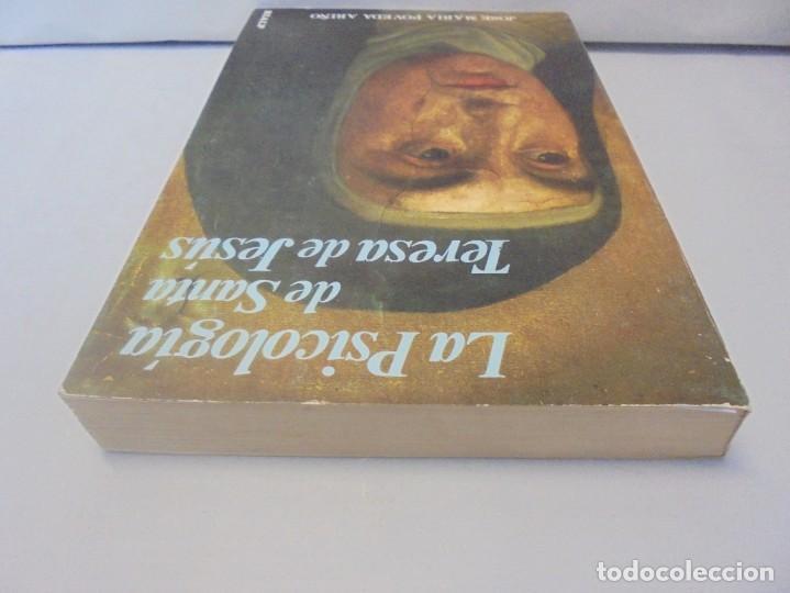 Libros de segunda mano: LA PSICOLOGIA DE SANTA TERESA DE JESUS. JOSE MARIA POVEDA ARIÑO. DEDICADO POR AUTOR. RIALP 1984 - Foto 5 - 218007770