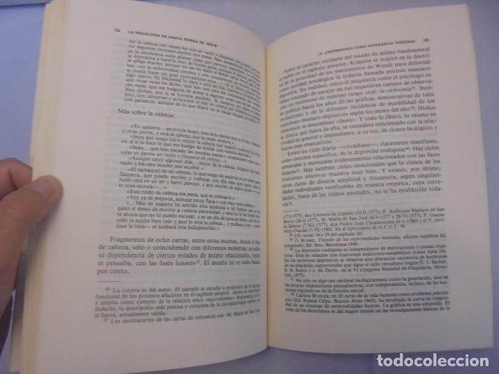 Libros de segunda mano: LA PSICOLOGIA DE SANTA TERESA DE JESUS. JOSE MARIA POVEDA ARIÑO. DEDICADO POR AUTOR. RIALP 1984 - Foto 11 - 218007770