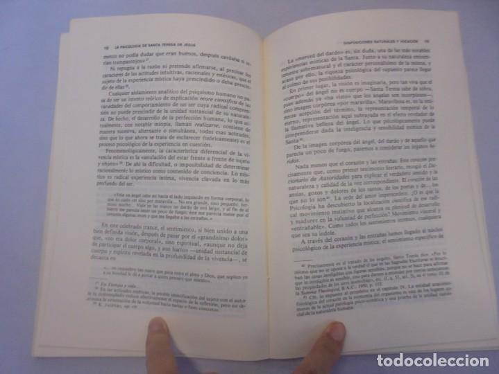 Libros de segunda mano: LA PSICOLOGIA DE SANTA TERESA DE JESUS. JOSE MARIA POVEDA ARIÑO. DEDICADO POR AUTOR. RIALP 1984 - Foto 12 - 218007770