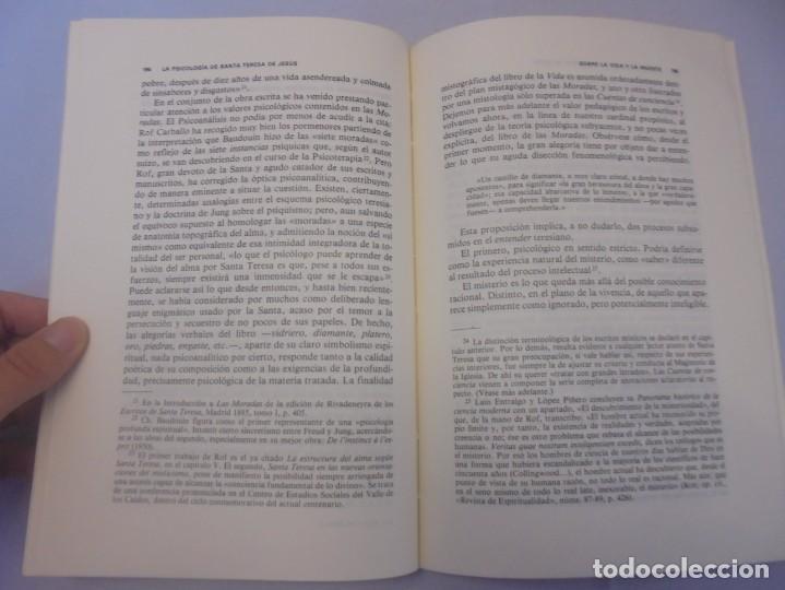 Libros de segunda mano: LA PSICOLOGIA DE SANTA TERESA DE JESUS. JOSE MARIA POVEDA ARIÑO. DEDICADO POR AUTOR. RIALP 1984 - Foto 13 - 218007770
