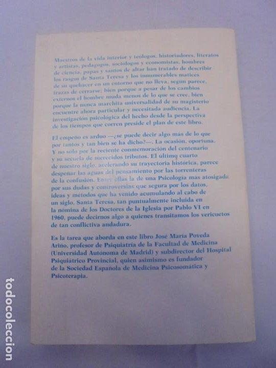 Libros de segunda mano: LA PSICOLOGIA DE SANTA TERESA DE JESUS. JOSE MARIA POVEDA ARIÑO. DEDICADO POR AUTOR. RIALP 1984 - Foto 15 - 218007770