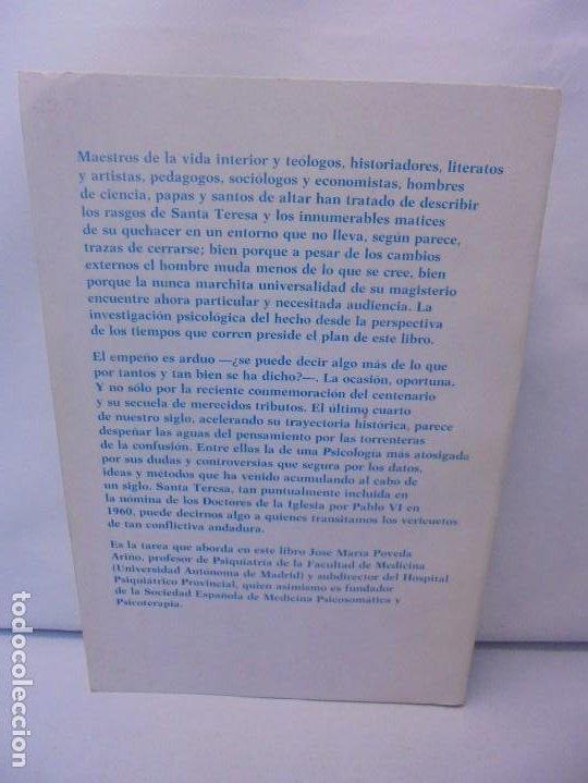 Libros de segunda mano: LA PSICOLOGIA DE SANTA TERESA DE JESUS. JOSE MARIA POVEDA ARIÑO. DEDICADO POR AUTOR. RIALP 1984 - Foto 16 - 218007770
