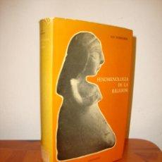Libros de segunda mano: FENOMENOLOGÍA DE LA RELIGIÓN - GEO WIDENGREN - EDICIONES CRISTIANDAD. Lote 218267897